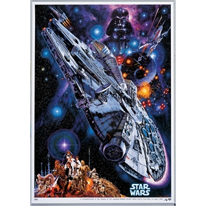 Placa Millenium Falcon POP