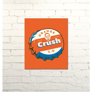 Placa Orange crush